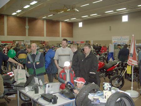 1. Motorrad Messe in Bredstedt 2005