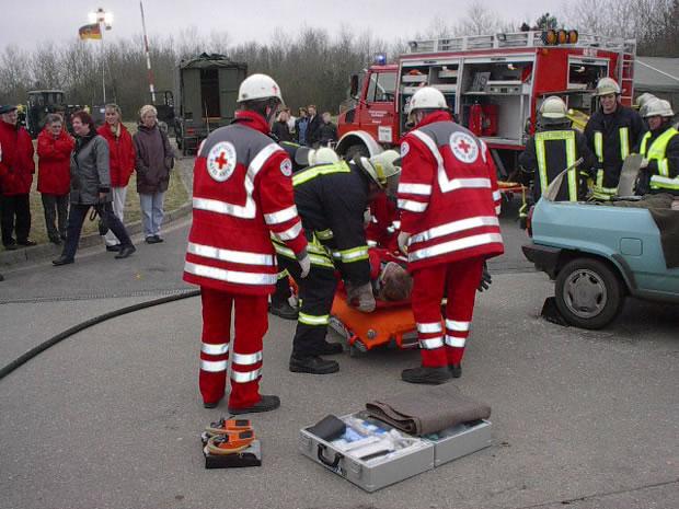 Erlebnismesse in Bredstedt 2003 Aktionen