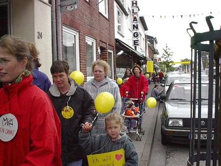 Demo Müllverbrennungsanlage 2001