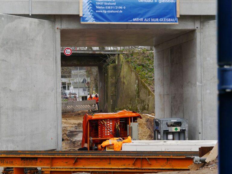 Brückenerneuerung in Breklum und Bredstedt 2019