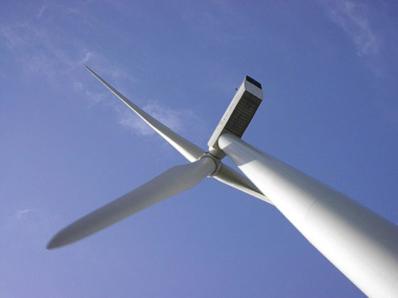 Windkraftanlagen in Nordfriesland