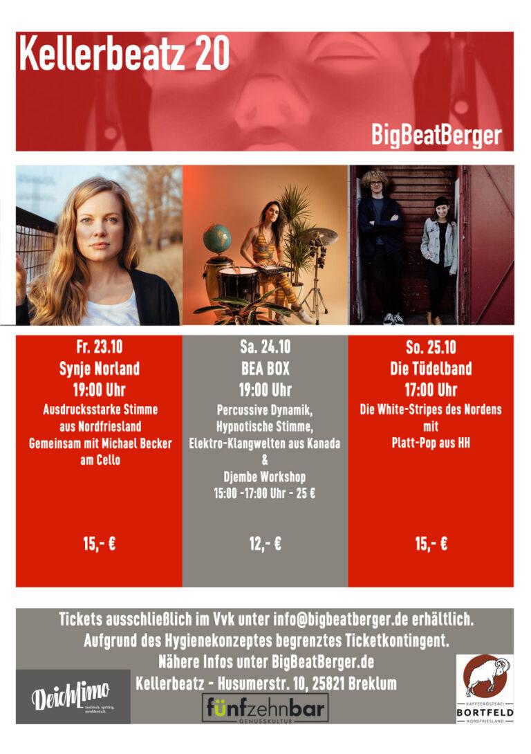 Kellerbeatz 20 – Live Kultur Konzertreihe in Breklum