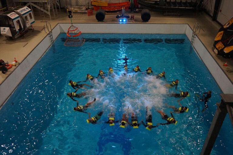THW Kiel Teamtraining auf dem GreenTEC Campus in Enge-Sande